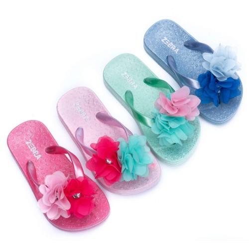 Zebra slippers